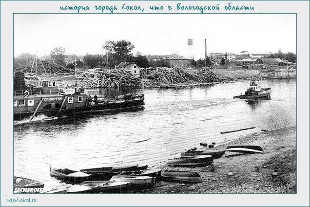 на реке на Сухоне