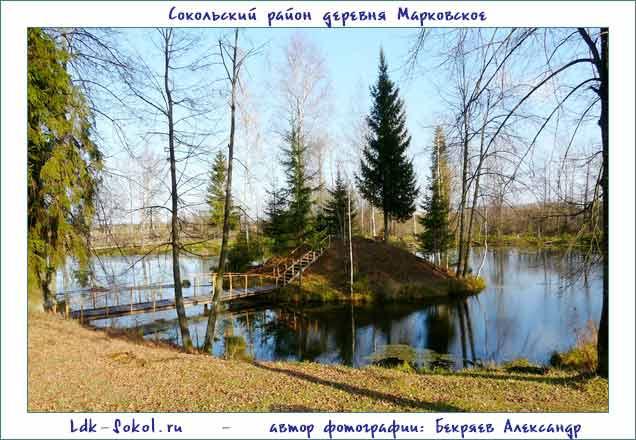деревня Марковское Липовый парк