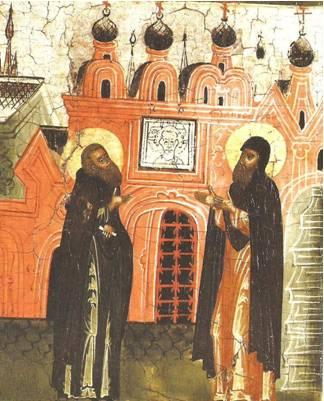 Дионисий поставил церковь во имя Покрова Богородицы