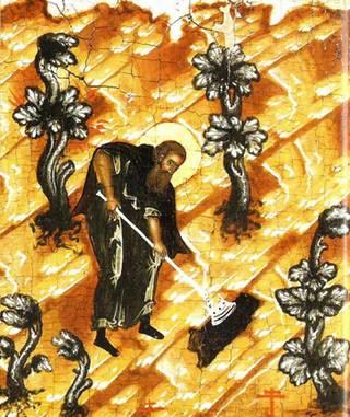 Дионисий «ископа» себе могилу на Сосновце