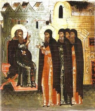 Поручение братии Амфилохию