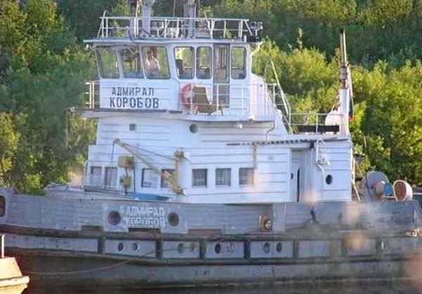 Белый пароход: Адмирал Коробов