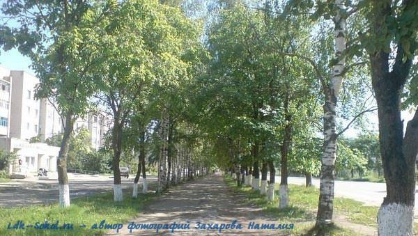 улочки нашего города Сокол