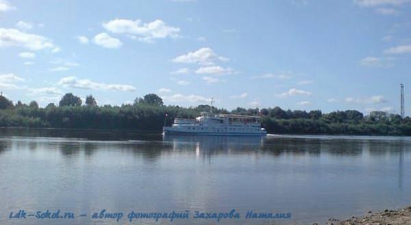 город Сокол - река Сухона