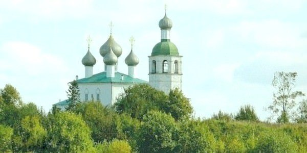Церковь Илии Пророка в Ильинском Погосте
