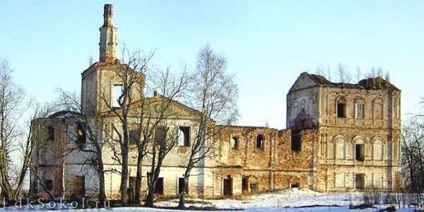 Церковь Троицы Живоначальной в селе Покровское