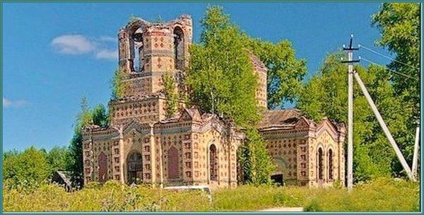 Никольская церковь в селе Филисово