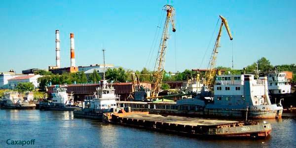 Порт - Сокол на берегу Сухоны