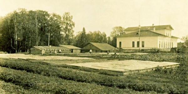 Усадьба Рухлова, на правом берегу Сухоны
