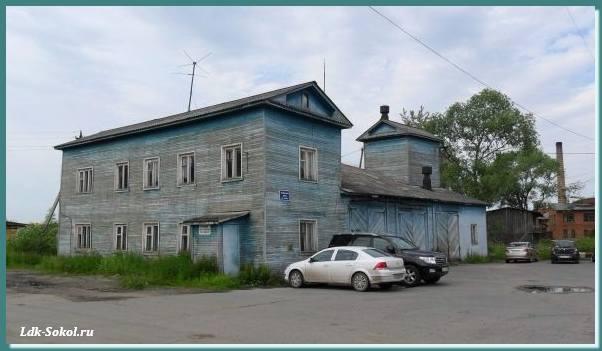 Заводская улица, город Сокол