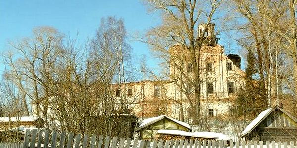 Разрушенная Церковь в селе Грибцово