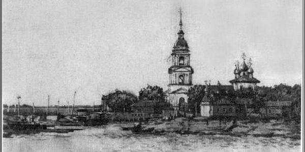 Воскресенский Боровецкий храм в селе Воскресение