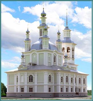 каменного храма в честь иконы Божией Матери «Державная»