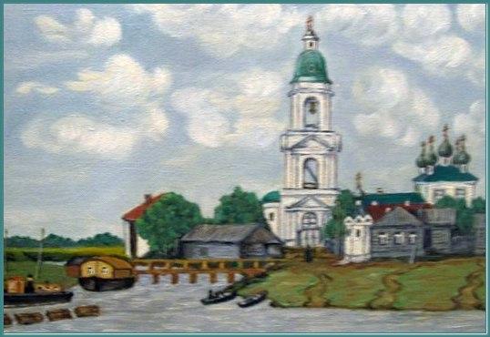 Село Воскресенье - нынешняя улица Возрождения