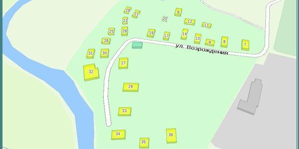 Село Воскресение - нынешняя улица Возрождения в Соколе