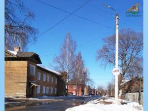 город Сокол, улица Горького (фото 2021 год)