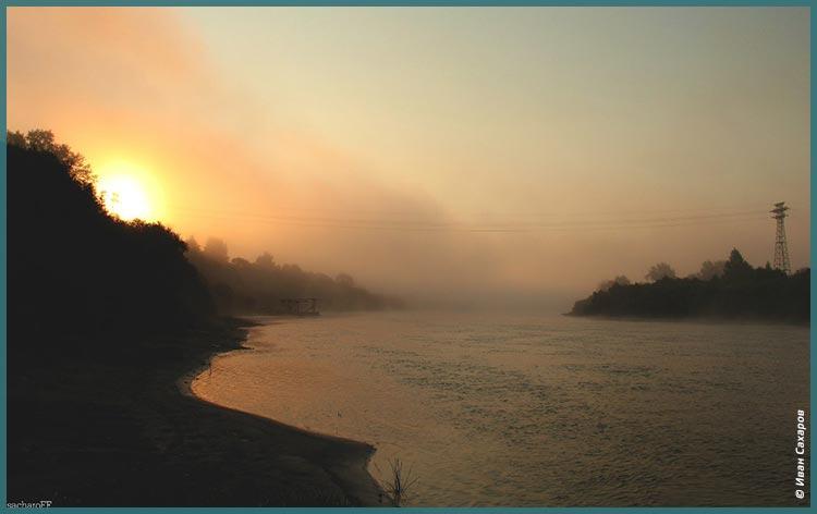 туман над рекой