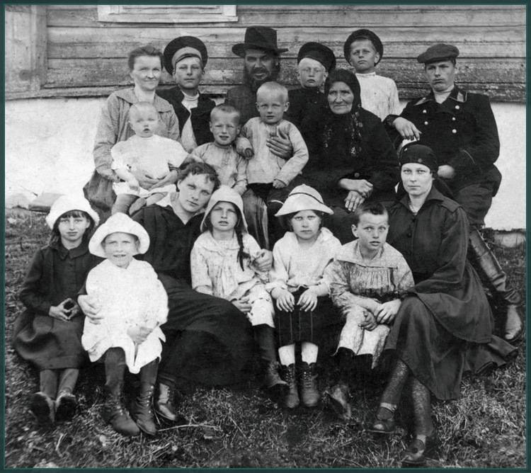 Семья протоиерея Владимира Сибирцева