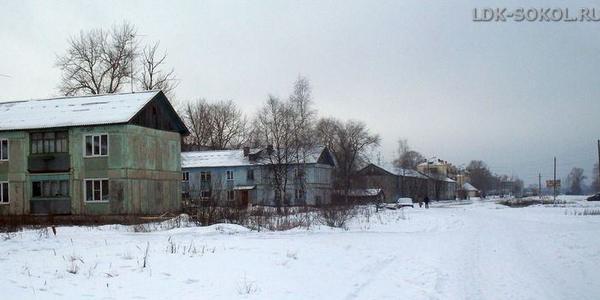 улица Орешкова в Соколе