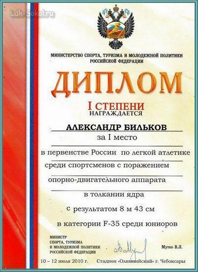 Бильков Александр