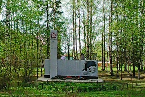 Памятник-обелиск воинам, погибшим в ВОВ в Чучково