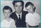 С сыновьями Валерием и Николаем