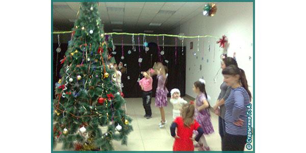радость детям на Новый год