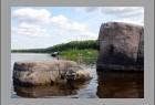 Камень Лось на реке Сухоне