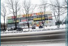 Город Сокол - зимние улицы города