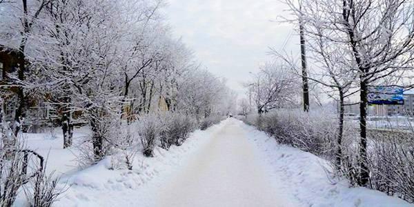 Улочки моего города - вслед уходящей зиме