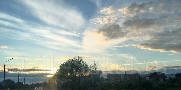 Небо над городом Соколом