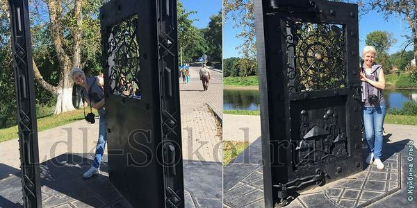 Скульптура Открытая Дверь в Вологде