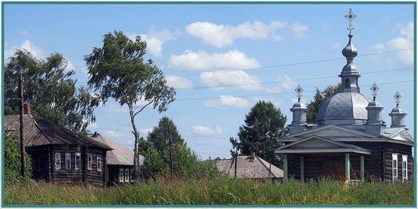 Часовня Ивана Постника в деревне Липовице
