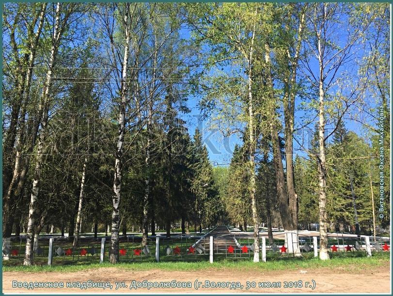 Введенское кладбище, закрытое для захоронений