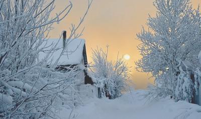 Стихотворение Сергея Лопотова: Скрипучая зима