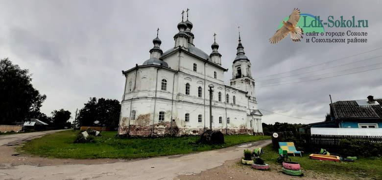 Храмы Сокольского района