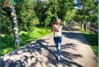Прогулка по площади Революции в Вологде