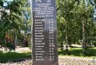 памятная стела сокольчанам, погибшим в вооруженных конфликтах и при исполнении служебного долга в мирное время