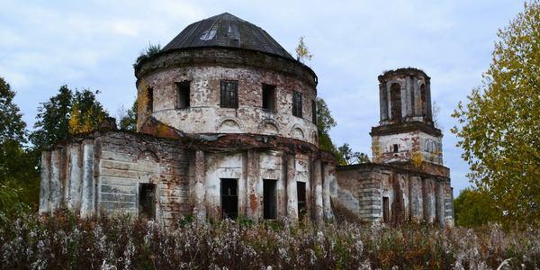 Церковь Троицы Живоначальной в д. Поповское