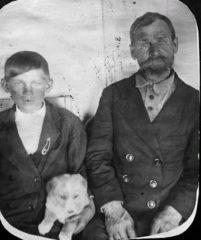 Яковлев Николай с отцом, Александром Яковлевичем
