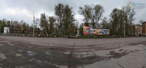 Пионерский сквер, город Сокол (23 мая 2020)