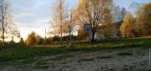 На берегу реки, за детской поликлиникой г. Сокол (23 мая 2020)
