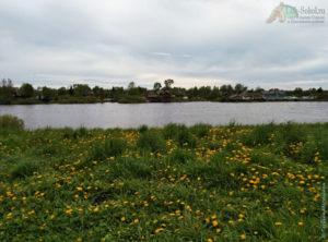на берегу Сухоны, город Сокол