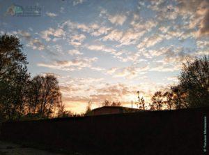вечерний закат на ул. Куйбишева