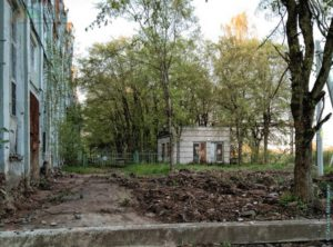 Сокольский ЦБК - разруха и запустение, Советский проспект г. Сокол