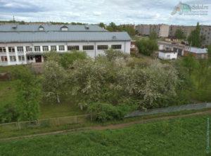 Вид на 1 школу, город Сокол