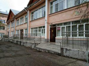 Детская поликлиника на Суворова, город Сокол