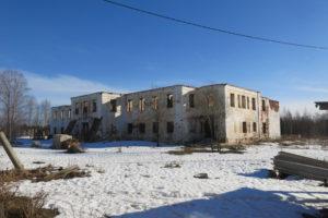 После пожара братский корпус монастыря превратился в руины