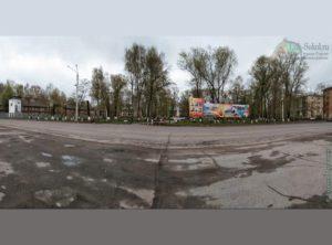 Пионерский сквер в Соколе (май 2020 года)
