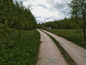 подъездная дорога к кладбищу